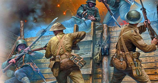 trench warfare was a very important In trench warfare, the two sides fighting each other dig trenches in a battlefield these trenches have many different parts, such as bunks, headquarters , artillery , and machine gun bunks between the two trenches on a battlefield, there was an area called  no man's land .