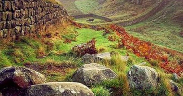 Autumn at hadrian s wall scottish border outono na for A muralha de adriano