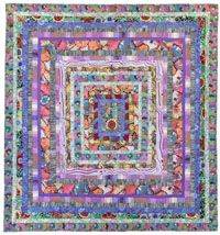Stone Log Cabin Quilt Kit Kaffe Fassett Quilts Quilt Kits Quilt Patterns