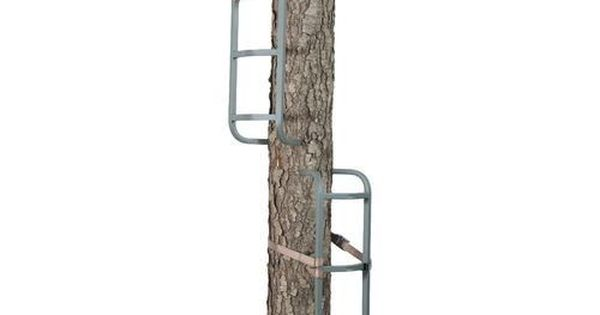 3 piece steel rapid rail tree climbing sticks hunting tree for Climbing tree stand plans