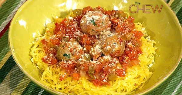 Spaghetti & Meatballs, but with Squash and Turkey Meatballs