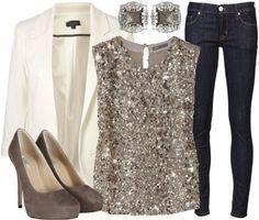 What To Wear Denim And Diamonds Gala Dinner Party Outfits Diamonds And Denim Party Denim Party