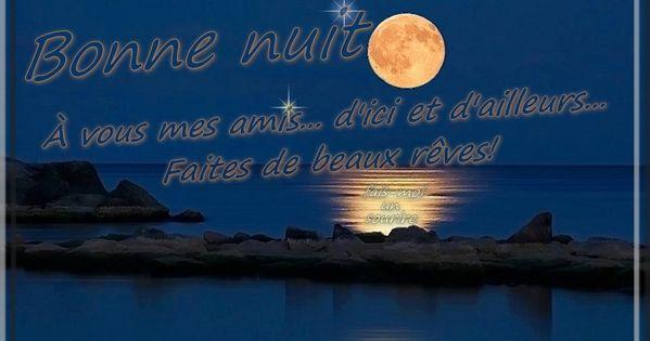 bonne nuit faites de beaux r ves bonne nuit