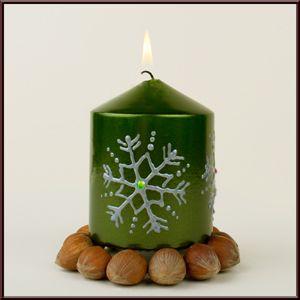 Kerze Bemalen Kerzen Verzieren Kerzen Dekorieren Und Diy Kerzen