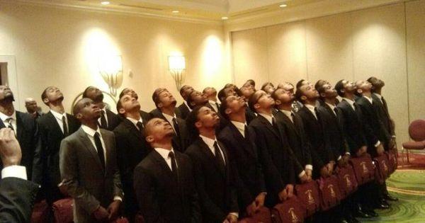 The men of Epsilon Zeta chapter Kappa Alpha Psi Fraternity ...