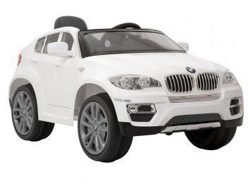 Carro Eletrico Infantil Bmw X6 Com Controle Remoto Sons E Luzes