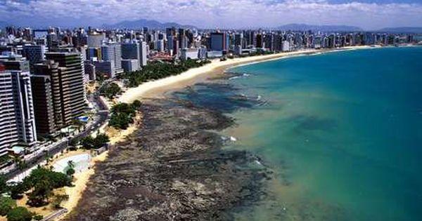 Praia De Iracema E Cartao Postal De Fortaleza No Ceara Brasilia