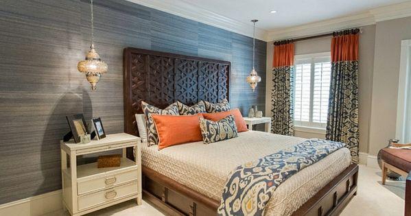 schlafzimmer design modern mix marokko | schlafzimmer ideen, Deko ideen