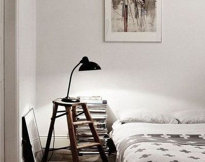 diy faire soi m me sa table de chevet table de chevet tendance bureaux m me et bricolage. Black Bedroom Furniture Sets. Home Design Ideas