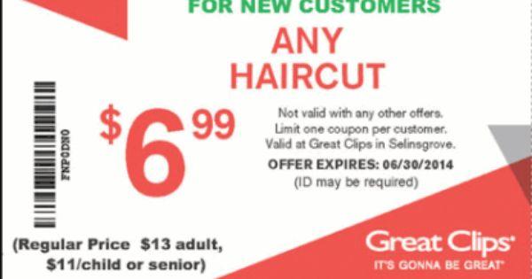Free Printable Great Clips Coupon June 2015 Haircut Coupons Great Clips Coupons Great Clips Haircut