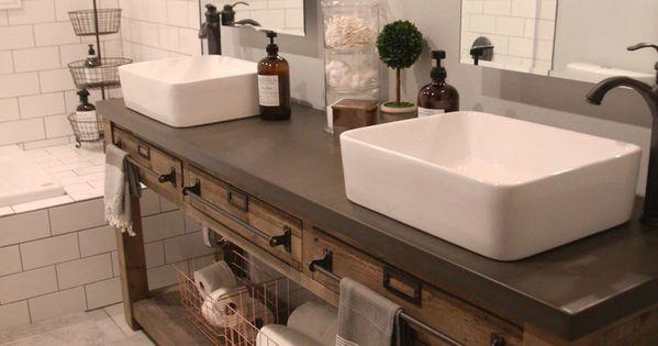 Bathroom Remodel Restoration Hardware Hack Mercantile
