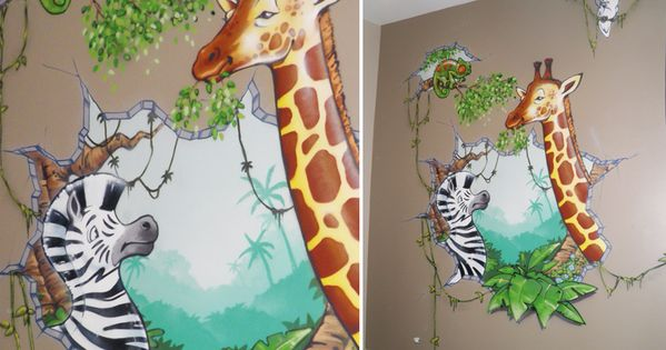 Deco chambre bebe garcon jungle chambre pinterest - Chambre garcon jungle ...