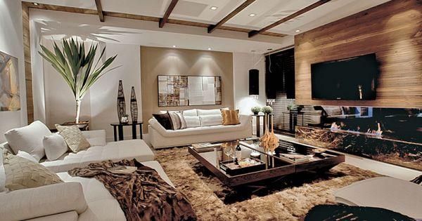 decoraci n de salas para espacios amplios y grandes