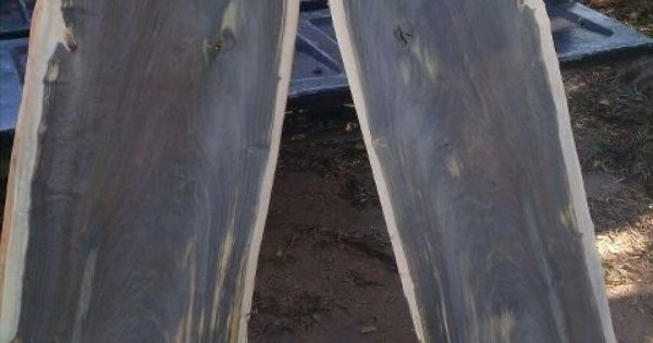 Huge Blue Mahoe Book Matched Slabs Lumber For Sale