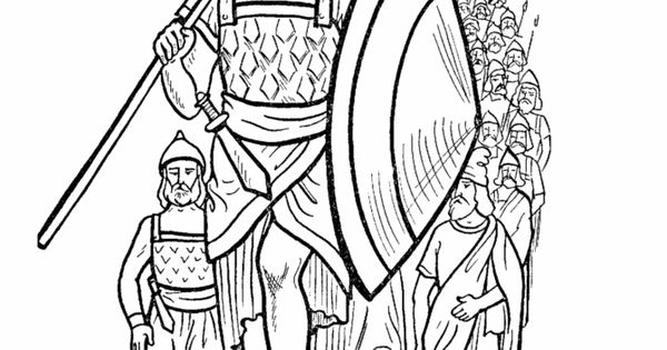 Joshua Bible Story Coloring Page Joshua Was Called Upon To Lead The Hebrews After The Death Of