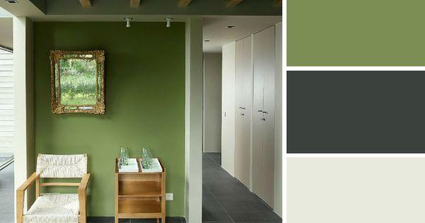 quelles couleurs se marient avec le vert gris vert et couleurs. Black Bedroom Furniture Sets. Home Design Ideas