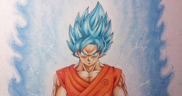 Drawing Vegito Ssgss Super Saiyan God Super Saiyan Super Saiyan Blue Youtube Goku Super Saiyan Blue Goku Super Saiyan God Super Saiyan Blue