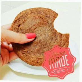 Fit Food Ideas Cookie De Microondas Sabor Pasta De Amendoim
