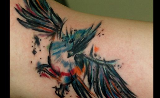 Tattoo artística.