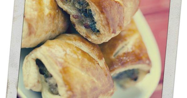 how to make vegetarian sausage rolls