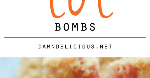 Bacon Wrapped Tater Tot Bombs - The most amazing tater tots ever.