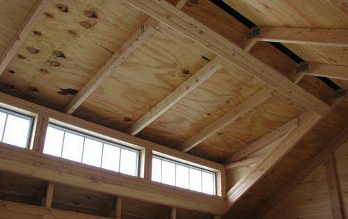 Shed Roof Framing With Dormer Transom Craftsman Sheds Backyard Sheds Building A Shed