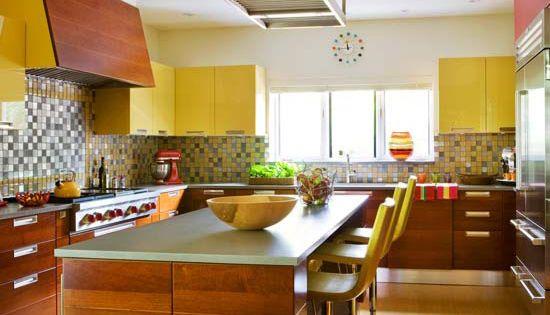Dark Wood Kitchens Kitchen Colors And Mosaics On Pinterest