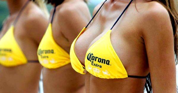 #beer #corona #boobs #sexy #women drinking beer #women and ...