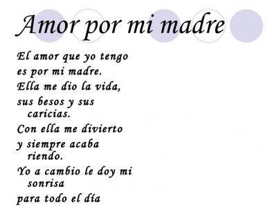 Poemas Canciones Para El Dia De La Madre Para Niños 54 Poemas Cortos Para Ninos Poesias Infantiles Bonitas