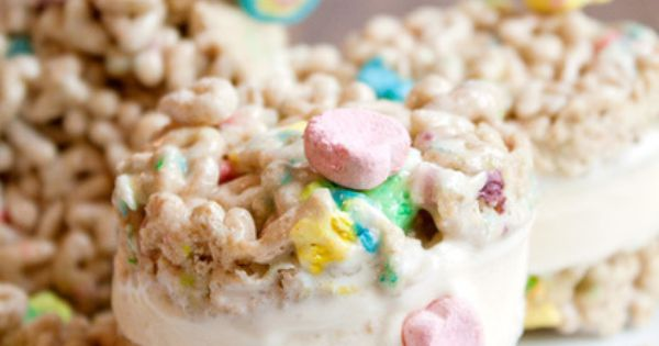 Lucky charm, Ice cream sandwiches and Charms on Pinterest