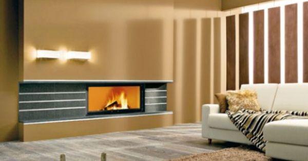Hogar a le a moderno casas pinterest chimeneas for Hogares a gas modernos