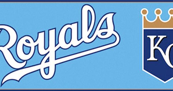 Inspired by Color Kids Kansas City Royals MLB Wallpaper
