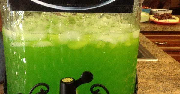 Batman Party Joker Slime Joker Juice One Year Older