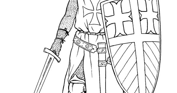 Crusades coloring pages Google keres s k z pkor