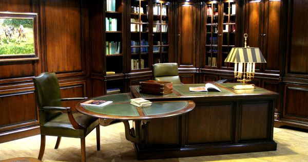 Groot wandmeubel complete kamer interieuridee n wandkast met - Koloniale stijl kantoor ...