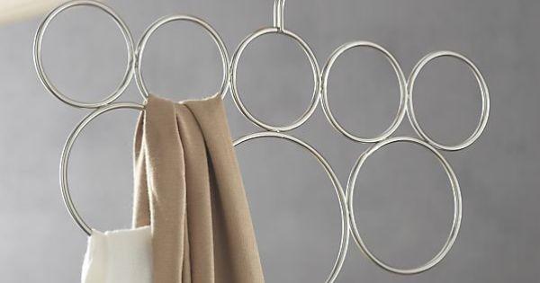 organisation cintre pour ranger les charpes 63 garde robe id es conseils pinterest. Black Bedroom Furniture Sets. Home Design Ideas