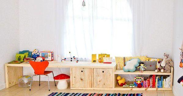 Diez escritorios de ni os para hacer t mismo escritorio - Escritorios para ninos ...