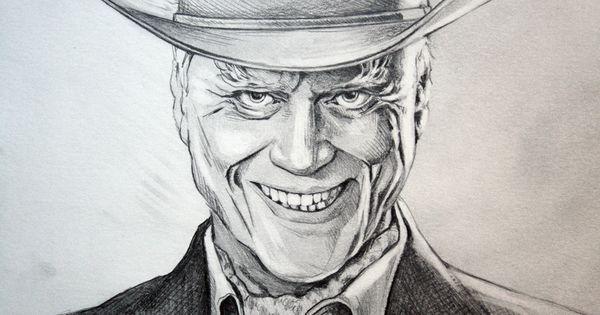 Jr ewing 39 s evil grin closeup dallas tnt larry hagman jrewing dallas tnt pencil portrait - Dallas tv show family tree ...