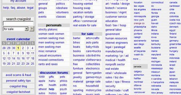 Craigslist Fall River These files scrape craiglist missed connection ads for canadian cities, find the most common location for each city, and the most common words that follow a given phrase, also for each city. craigslist search today