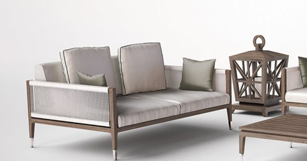 Smania amalfi garden sofa outdoor furniture pinterest for Amalfi sofa chaise