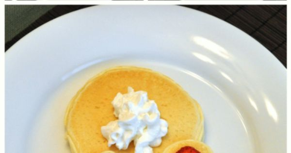 Small Family Big World: Fun Pancakes for Kids - Bunny Pancakes -