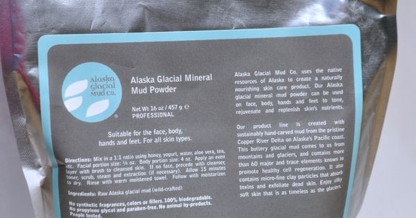 Spa professionals you may now purchase Alaska Glacial Mud products for ...