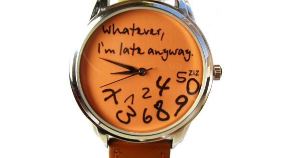 story of my life... I need this watch