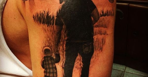 #beautiful #memorial #tattoo by artist @coreymillertattoo ...