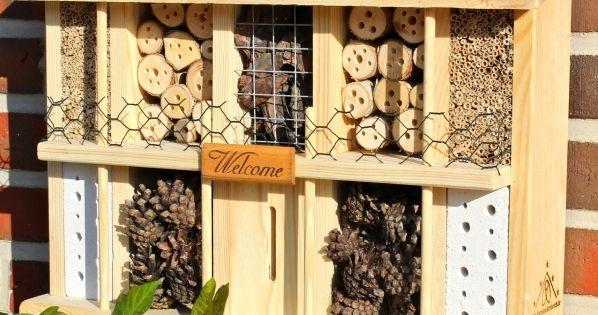 insektenhotel bausatz mit bauanleitung selbst ein wundersch nes insektenhotel bauen. Black Bedroom Furniture Sets. Home Design Ideas