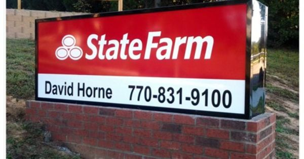 Lighted Signs Window Lighted Signs Outdoor Lighted Signs Outdoor Signs State Farm Business Signs