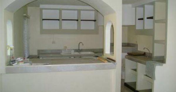 47+ Arco desayunador cocinas con arcos modernos ideas