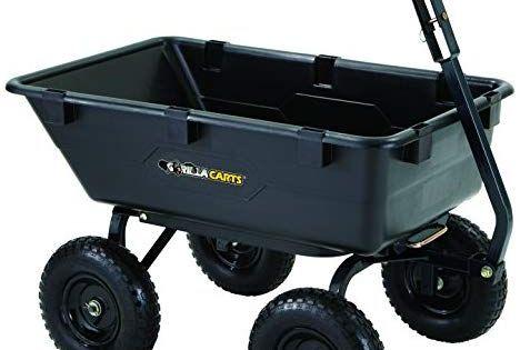 How To Install A Channel Drain Yard Cart Wheelbarrow Garden Wagon