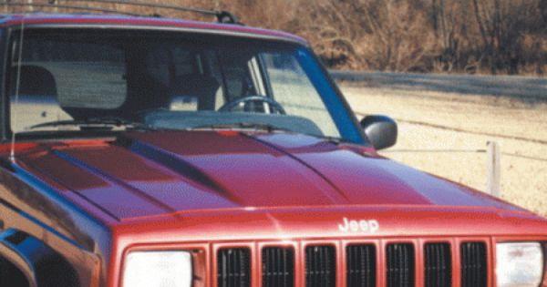 Jeep Cherokee Reflexxion Domination Series Steel Cowl Induction
