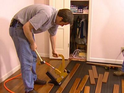How To Install A Hardwood Floor With